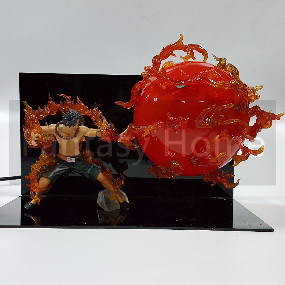 One Piece Action Figure Ace Fire Ball DIY Display Toy PVC Figurine One Piece Portgas D Ace+Ball+Stand (Fire) DIY45One Piece Action Figure Ace Fire Ball DIY Display Toy PVC Figurine One Piece Portgas D Ace+Ball+Stand (Fire) DIY45