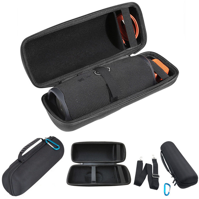 For <font><b>JBL</b></font> <font><b>Charge</b></font> <font><b>4</b></font> <font><b>Speaker</b></font> <font><b>EVA</b></font> Hard Storage Case Cover Portable Travel Carry Bag image