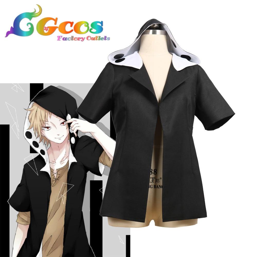 CGCOS Cosplay Costume Mekakucity acteurs Kagerou projet Kano syuya Anime uniforme Halloween Anime jeu noël