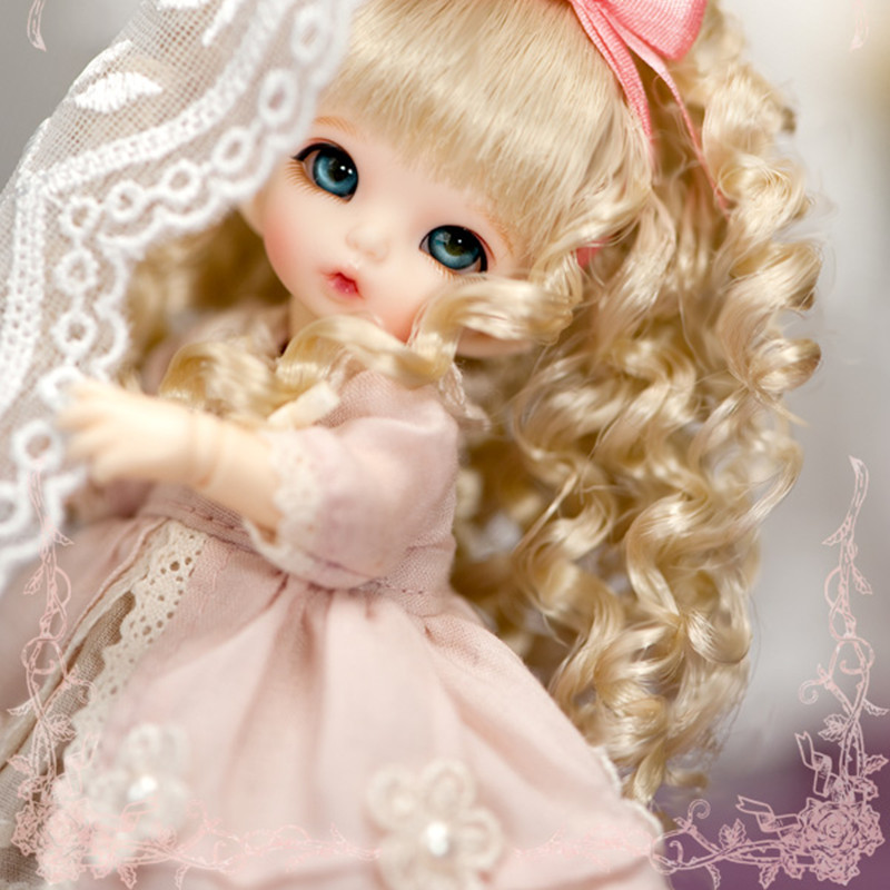 SD / BJD doll fairyland pukipuki ANTE toy soom doll msd 1/8 dolls birthday gift uncle 1 3 1 4 1 6 doll accessories for bjd sd bjd eyelashes for doll 1 pair tx 03