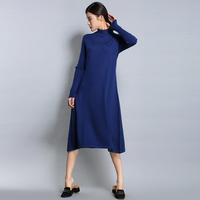New Hot Autumn Winter Women S Wear Long Style Loose A Cashmere Dress Fashionable Comfortable Lady