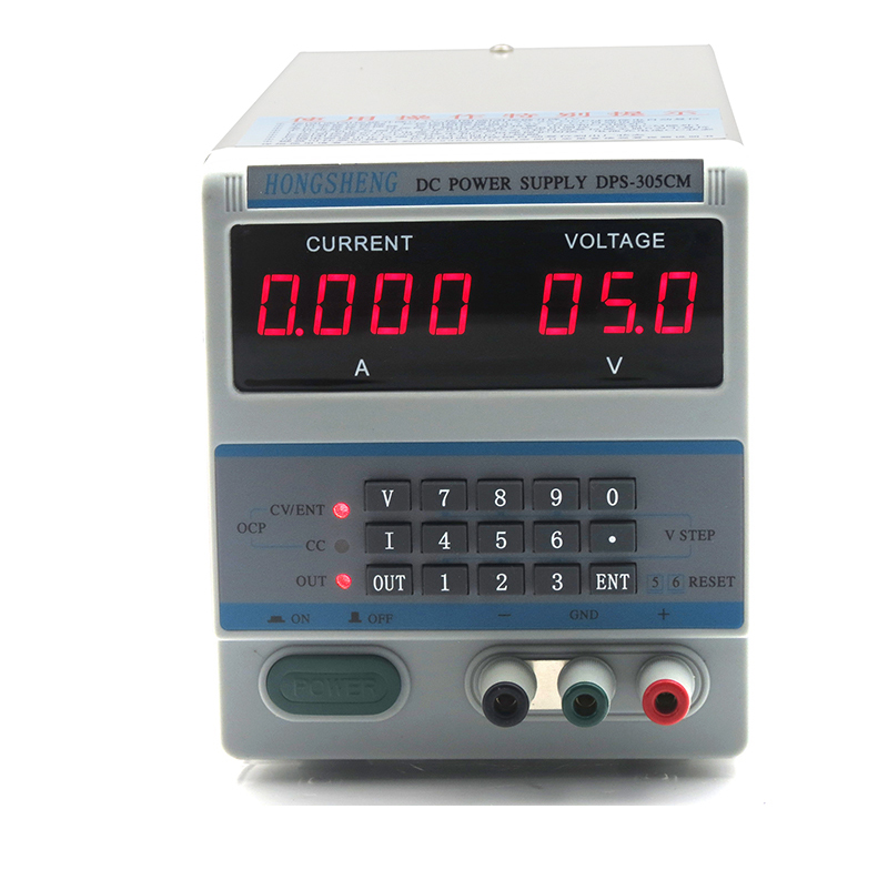 220V Laptop Mobile Phone Tester DPS-305CM DC Power Source Supply Adapter With Locking Storage Function 30V 5A