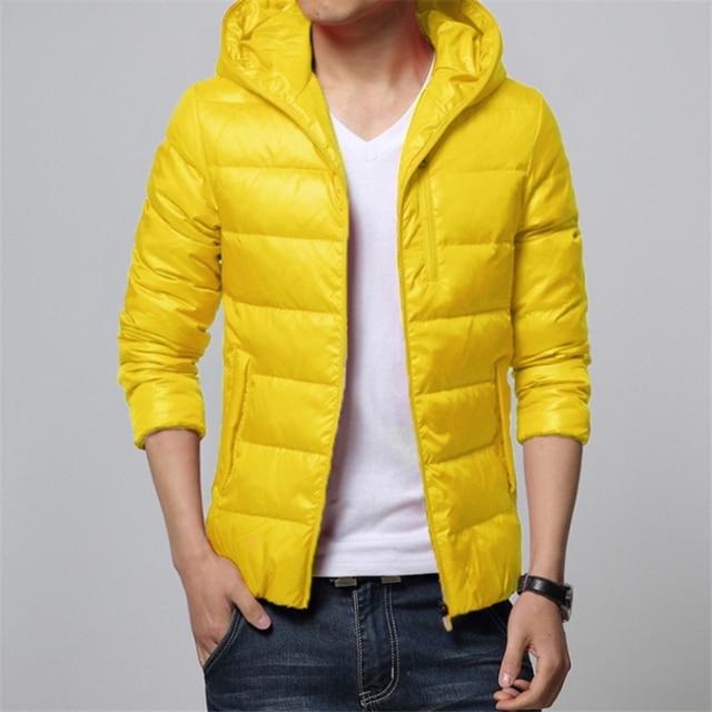 Big Size Hooded Man Loose Down mens jackets and coats 2016 Winter Keep Warm Black Red Yellow Slim Fit Man Parka 8XL 7XL 5XL 3XL