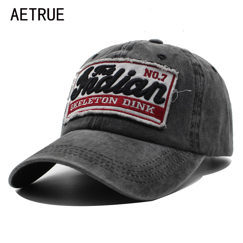 AETRUE Baseball Caps Men Snapback Caps Women Hats For Men Brand Bone Casquette Male Vintage Embroidery Gorras Letter Dad Hat Cap hand rose embroidery baseball cap cotton casual hats for men women bone snapback caps gorras casquette