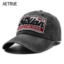 AETRUE Baseball Caps Men Snapback Caps W