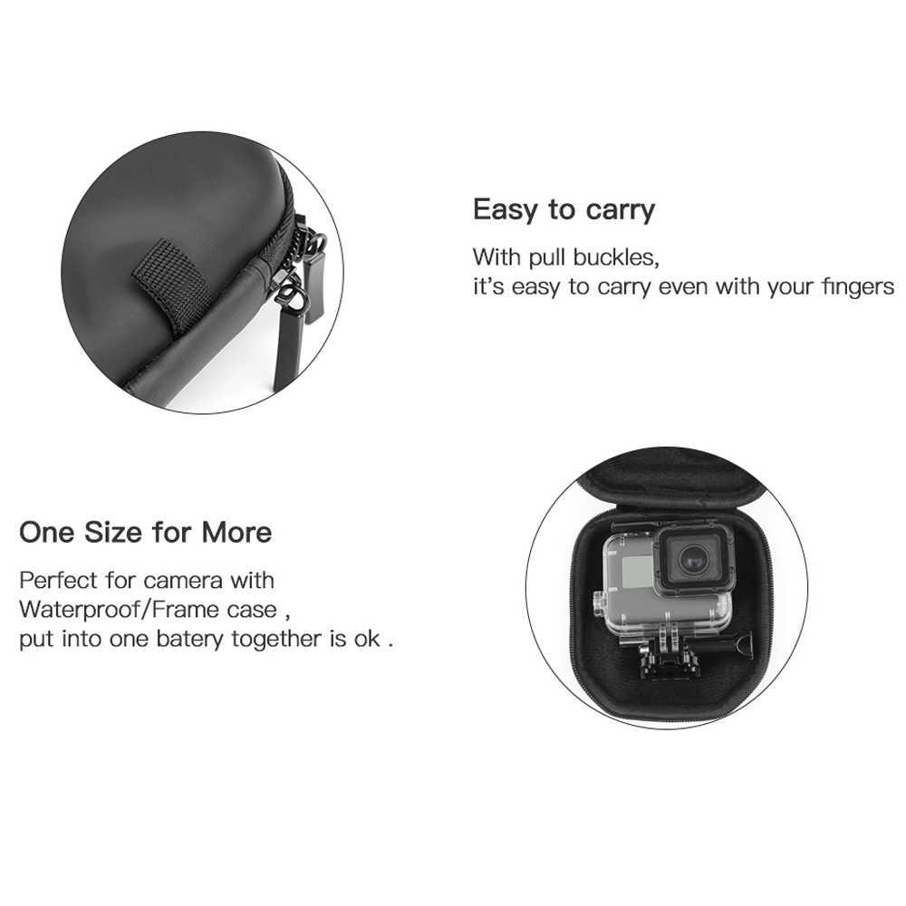 Портативный Водонепроницаемый мини-поле Камера чехол для GoPro Hero 6 5 4 3 + 3 SJCAM Xiaomi Yi Cam дело go Pro действий Камера аксессуар