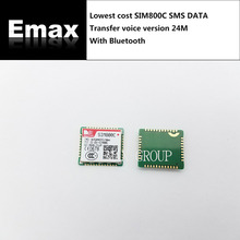 100PCS/LOT SIM800C lowest cost SMS DATA Transfer voice without Bluetooth 100% New&Original Genuine