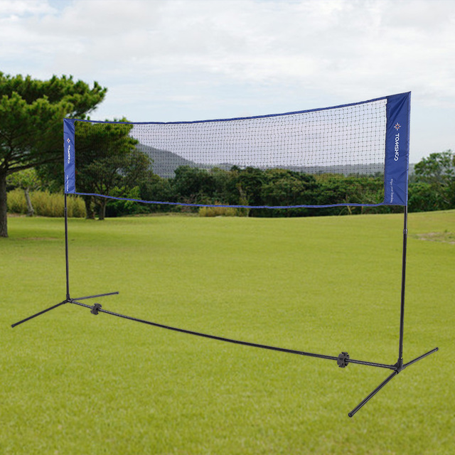 TOMSHOO 3m/5m Width Badminton Net with Adjustable Height Stand ...