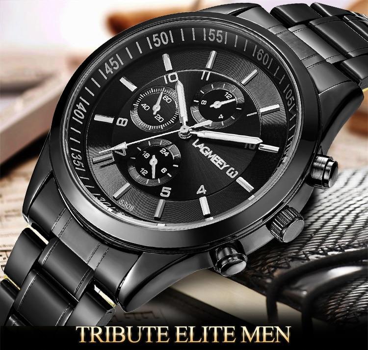 LAGMEEY, relojes pulsera acero 1
