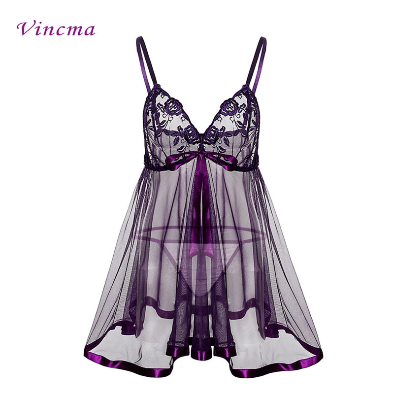 00d7579154fc Buy purple transparent dress and get free shipping on AliExpress.com