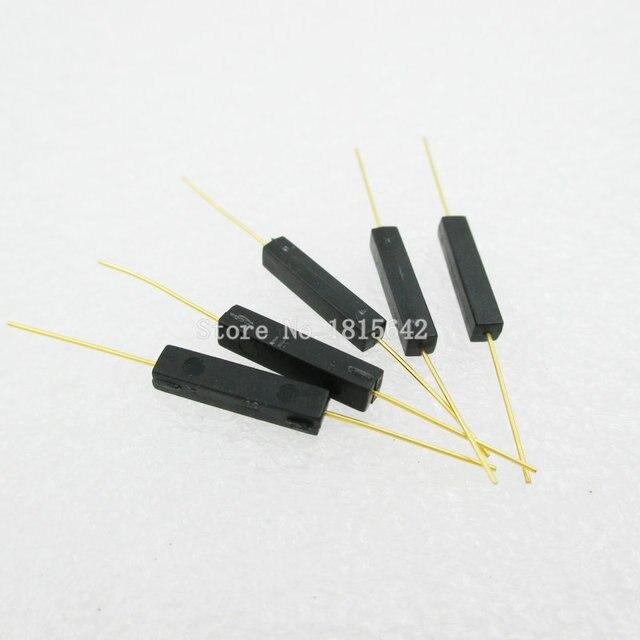 5 PZ/LOTTO Tipo di Plastica Reed Switch 2.7*14 Normalmente Aperto Interruttore di Controllo Magnetico GPS 14A Anti Vibrazione/Danni contatto Per Sensori