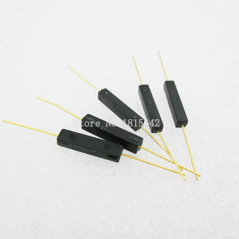 5pcs/lot Plastic Type Reed Switch 2.7*14 Normally Open Magnetic Control Switch Gps-14a Anti-vibration/damage Contact For Sensors