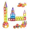 Bloques de construcción de juguete mini magnética de diseño 40/60 pcs/lot magnética juguetes educativos de diy 3d ladrillos de construcción revistas de alegría