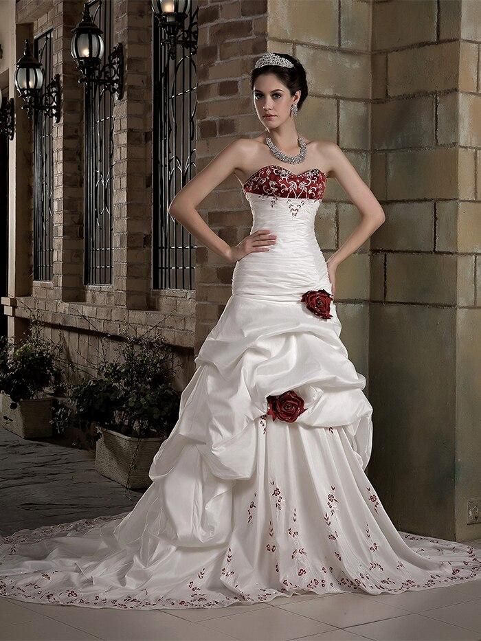 Vestidos de novia dos colores