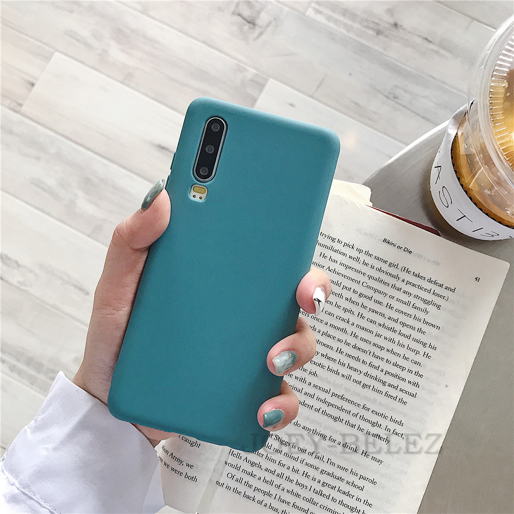Candy Color Phone Case Cover For Huawei Mate 20 P30 pro Mate 10 20 P10 P20 Pro Nova 3 2s Honor 9 10 8X Y7 Soft Back Case fundas 09
