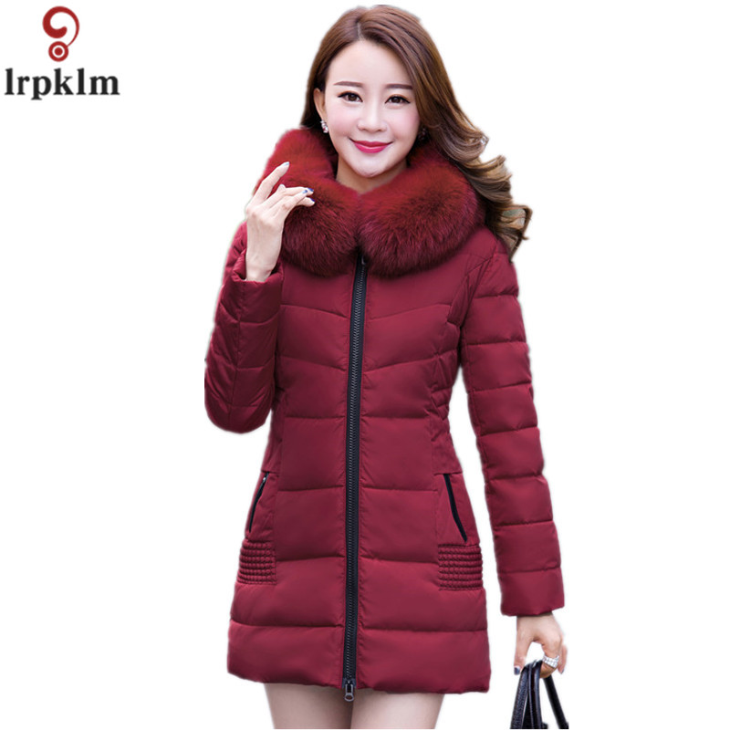Womens Winter Jackets And Coats 2017 Thick Warm Hooded Cotton Padded Parkas For Women's Winter Jacket Female Manteau Femme LZ119 womens winter jackets and coats 2016 thick warm hooded down cotton padded parkas for women s winter jacket female manteau femme