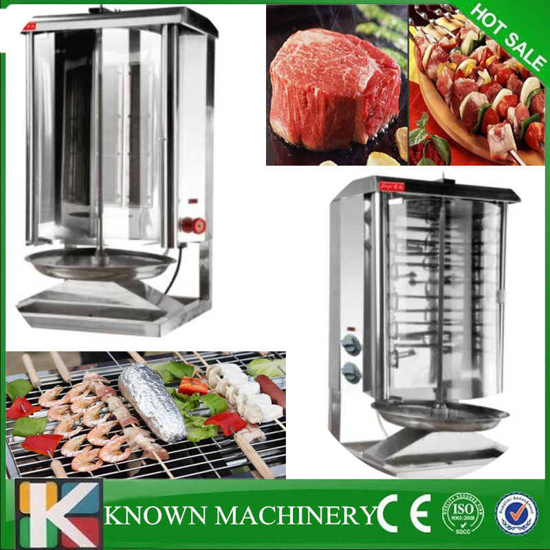Electric/Gas LPG kebab maker turkish bbq grill gas shawarma making machine 220v gas gb2104 gas