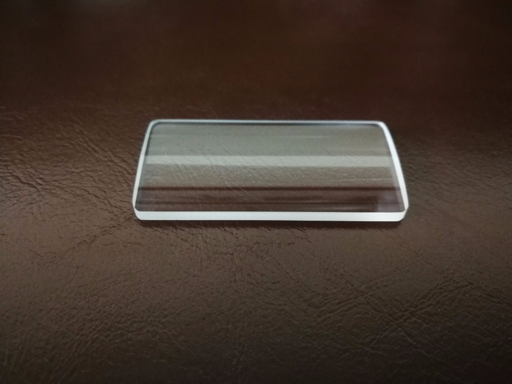 Lentille cylindrique convexe Plano 47.5*24mm FL85mm K9 lentilles de condensation en verre optique acceptent la personnalisationLentille cylindrique convexe Plano 47.5*24mm FL85mm K9 lentilles de condensation en verre optique acceptent la personnalisation