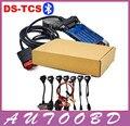 Nueva vci (2014.2 R2/2015R1 software) CDP PRO con bluetooth OBDII obd2 OBD II Del Coche Auto escáner CDP Pro Plus Full set 8 cables del coche