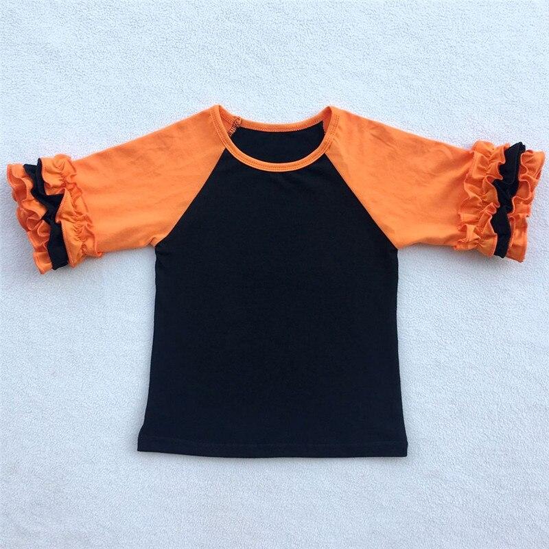 Kinder Weihnachten Shirts kinder Rüschen Raglan t shirts mädchen ...