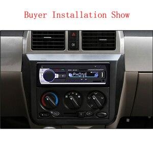 Image 5 - Авторадио Podofo JSD 520, автомагнитола с Bluetooth, 1 Din, 12 В, автомобильное радио с SD картой, MP3 плеером, авто стерео FM приемник с aux выходом