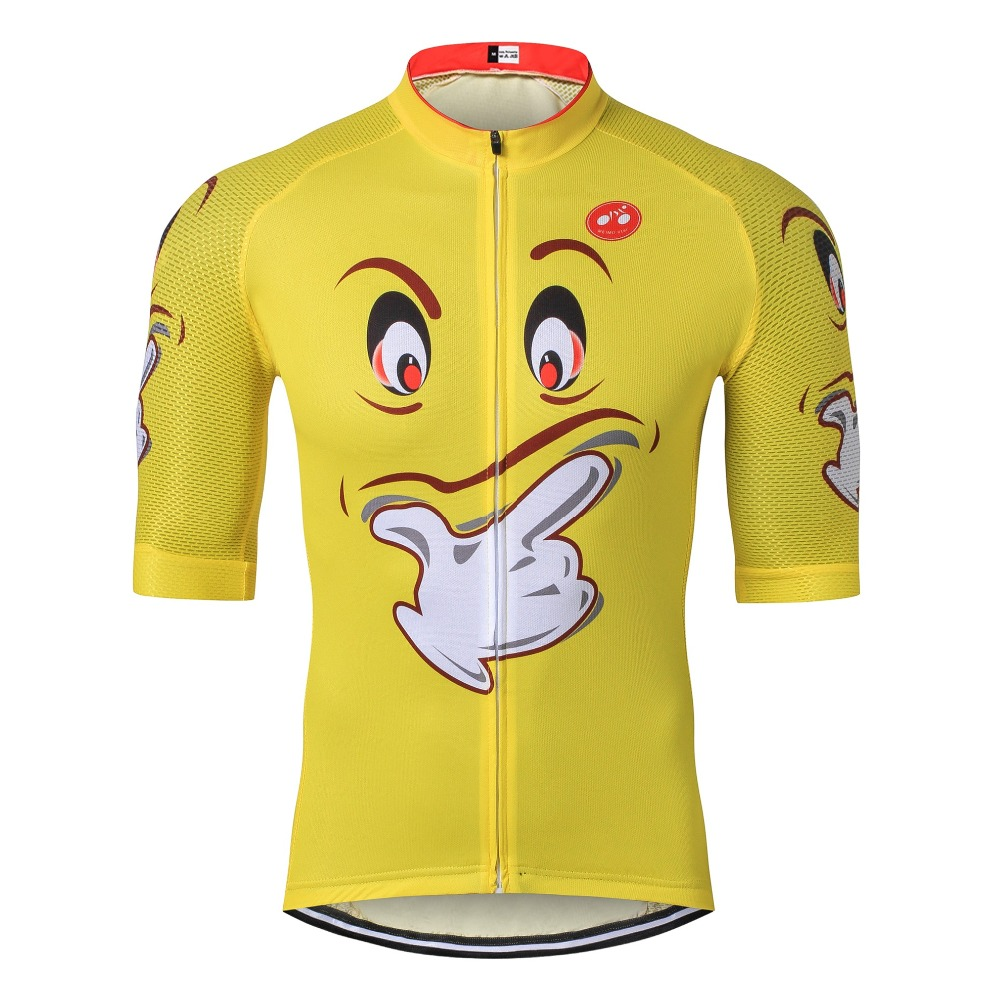 2019 Cartoon Cycling Jersey Racing Sport Bike Jersey Tops Bicycle - Cycling