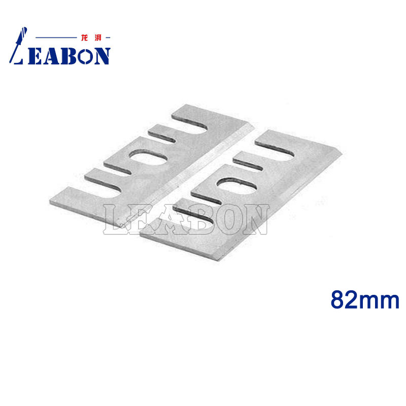 LEABON 2 Pcs 82mm  TCT  Electric Planer Blades/ Planer Cutter / Woodworking Tools for Hitachi