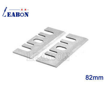 цена на LEABON 2 Pcs 82mm  TCT  Electric Planer Blades/ Planer Cutter / Woodworking Tools for Hitachi
