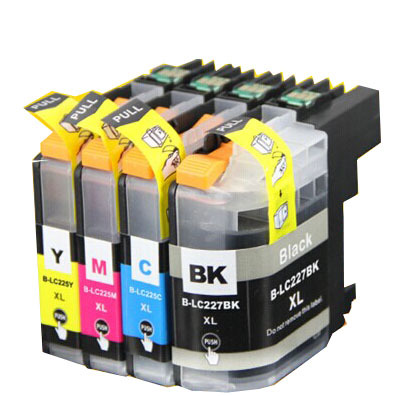 LC225 Ink Cartridge for Brother LC225xl LC227 For Brother MFC J4420DW J4620DW J4625DW J5320DW J5620DW J5625DW J5720DW Ink Penuh