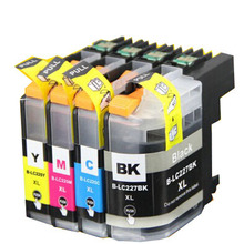 LC225 Ink Cartridge for Brother LC225xl LC227 For Brother MFC J4420DW J4620DW J4625DW J5320DW J5620DW J5625DW J5720DW Full Ink