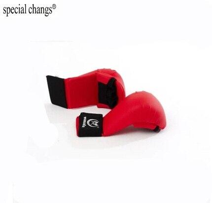 Новые кожаные Половина Finger Для женщин Для мужчин детей карате Боксёрские перчатки