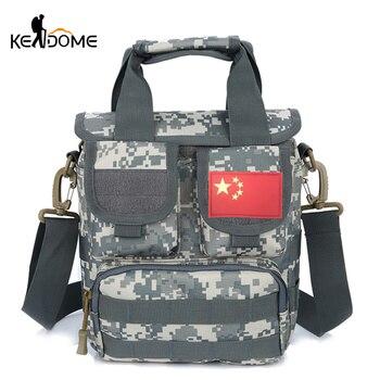 Sac à main Molle en plein air Trekking hommes femmes sac à bandoulière tactique Camouflage militaire multifonction voyage Commute sacs XA607WD