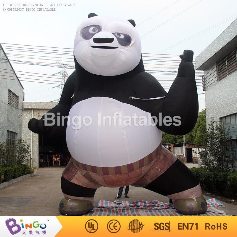 Бесплатная доставка Популярные панды фильмы огромные игрушки надувная панда для мероприятий