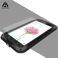 Extreme Metal Aluminum Case For Xiaomi Max Mi Max Gorilla Glass Water Dirt Shock Proof Armored