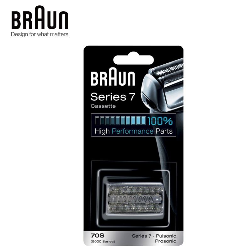 Braun 70S Electric Shavers Razor Blade Replacement for Series 7 720 730 760cc 790cc 9595 9565