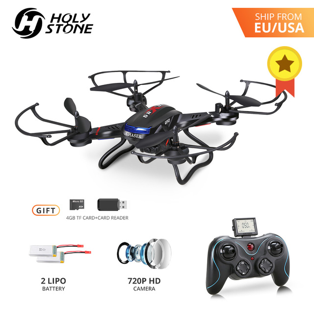 Holy Stone F181C RC Drone 4GB TF Card with 720P Camera 20 Minutes Flight RTF 4Ch 2.4GHz  Helicopter Quadrocopter Quadcopter