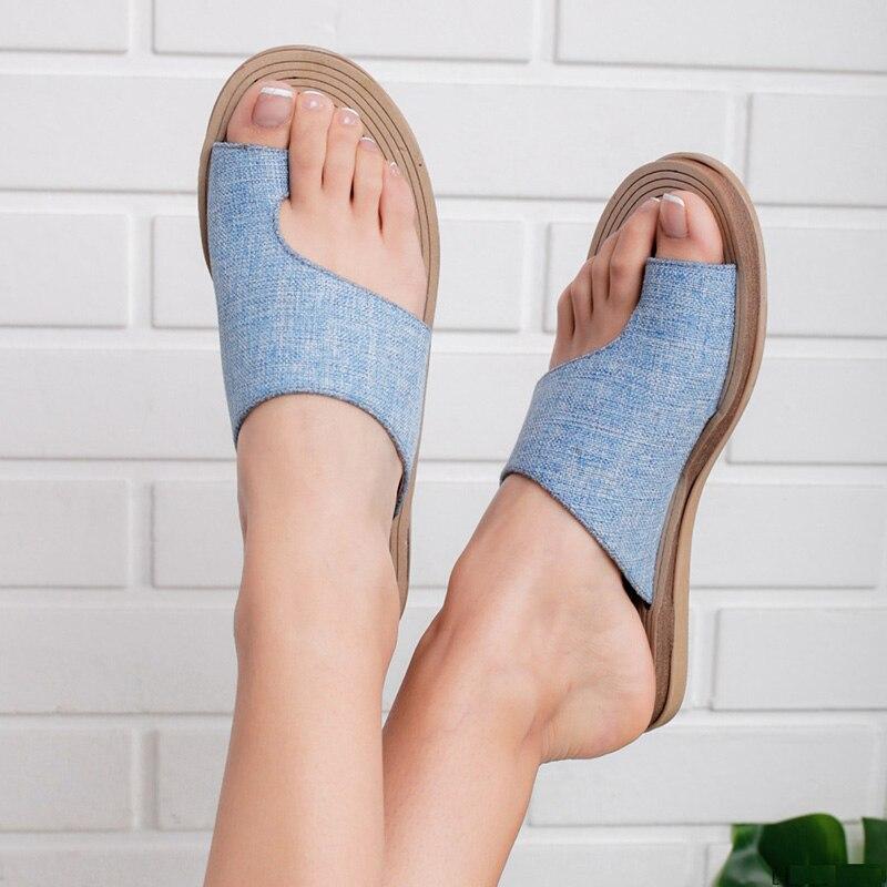 e0c1838a Verano Sandalias Las Mujeres Zapatos Cómodos De Plana Suela dCWxBore