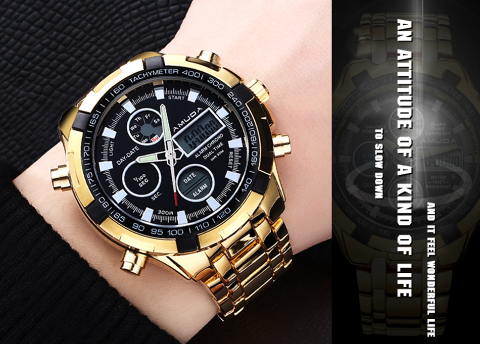 AMUDA chic  quartz wristwatches 2017 latest men's sport style double time display quartz wristwatches Relogio male Esportivo (3)