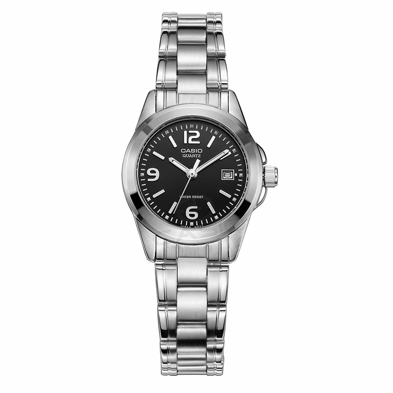 Casio Watch Women Elegant Brand Famous Luxury Quartz Watches Ladies Steel Antique Japen Wristwatches Relogio LTP-1215A-1A onlyou brand luxury fashion watches women men quartz watch high quality stainless steel wristwatches ladies dress watch 8892