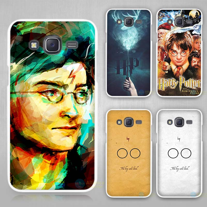 Harry Potter Movie Poster Magic Wand Unique Hard White Case Cover for Samsung Galaxy J1 J2 J3 J5 J7 C5 C7 C9 2016