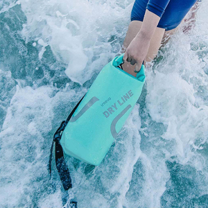 Image 2 - Youpin Urevo 10L Waterproof Bag Adjustable Strap Hook Bag for Outdoor Swimming Camping Rafting Storage Dry Bag