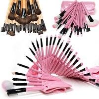 Black Pink Pro 32pcs Superior Soft Cosmetic Makeup Brush Set Eyeshadow Brush Pincel Maquiagem Cosmetics Makeup