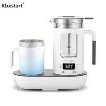 Multifunction 220V Electric Water Kettle Thickened Borosilicate Glass Health Pot Tea Maker Travel Water Boiler With Colding Cup