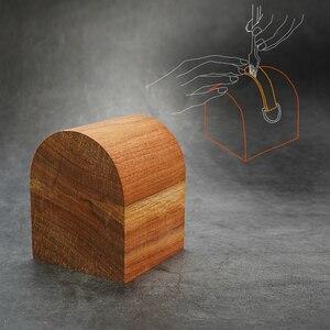 Image 1 - Сделай Сам кожаный ремешок сгибающийся клей для шитья деревянный ручной инструмент Аксессуары