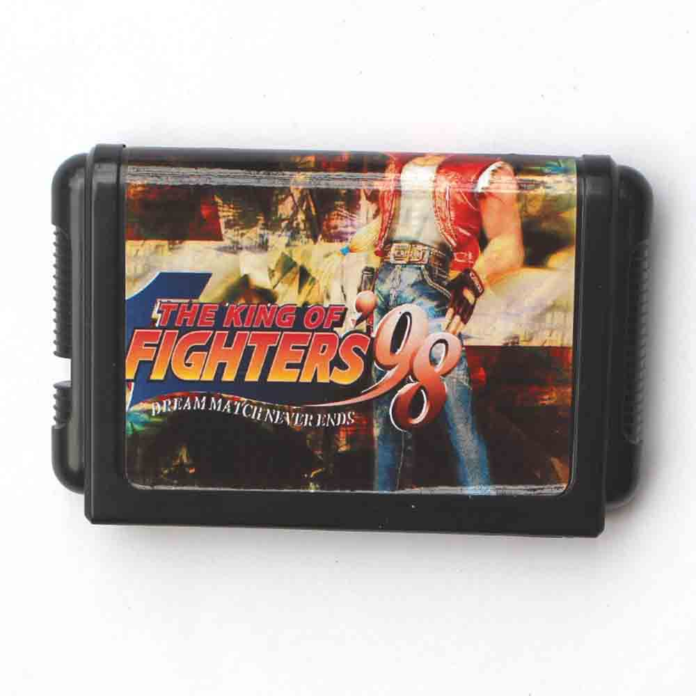 The King Of Fighters 98 16 bit MD Game Card For Sega Mega Drive For Genesis