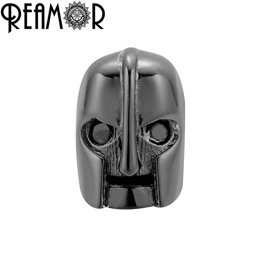Jewelry & Accessories Magic Fish Soldier Armor Helmet Hole Beads For Making Men Bracelets&bangles Necklace 4 Colors Copper Beads For Jewelry Making Beads