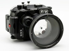 Для Canon G1X II Powershot Meikon 40 м/130ft подводный Водонепроницаемый Камера Корпус чехол G1X Mark II