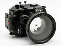 for Canon G1X II Powershot Meikon 40m/130ft Underwater Waterproof Camera Housing Case G1X Mark II