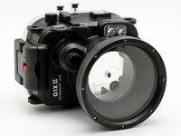for Canon G1X II Powershot Meikon 60m/195ft Underwater Waterproof Camera Housing Case G1X Mark II