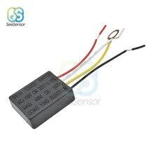 Interruptor táctil de lámpara de CA 220V, equipo eléctrico, partes del cuadro eléctrico, encendido/apagado, 1 vía, Sensor de Control táctil, Bombilla